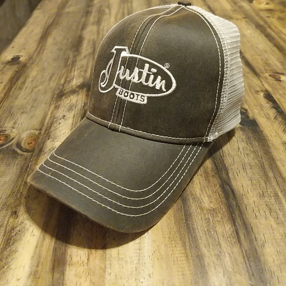 ccb49f0cd3e Justin Boots Other - New! Justin boots mesh ball cap hat
